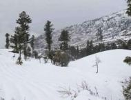 Galyat receives over one feet snowfall: Spokesman