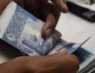 Rupee gains 02 paisas against dollar