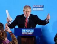 Boris Johnson Wins Big as Tories Gain Huge Commons Majority to 'G ..