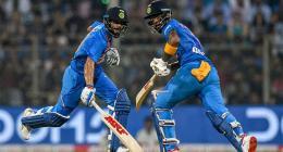 India post 240-3 after Rahul, Sharma, Kohli blitz