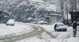 AJK lashes with seasons' first torrential rains/snowfall