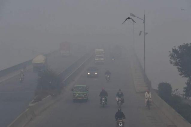 Smog grips Pakistan with increased risk of respiratory issues
