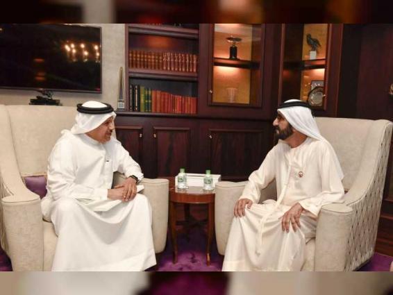 Mohammed bin Rashid receives GCC Chief