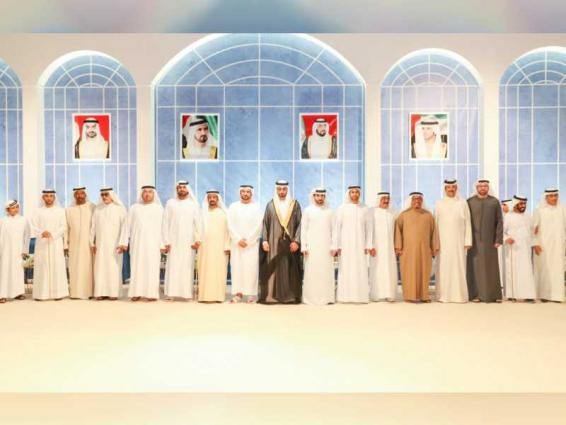 Mohammed bin Rashid attends wedding reception