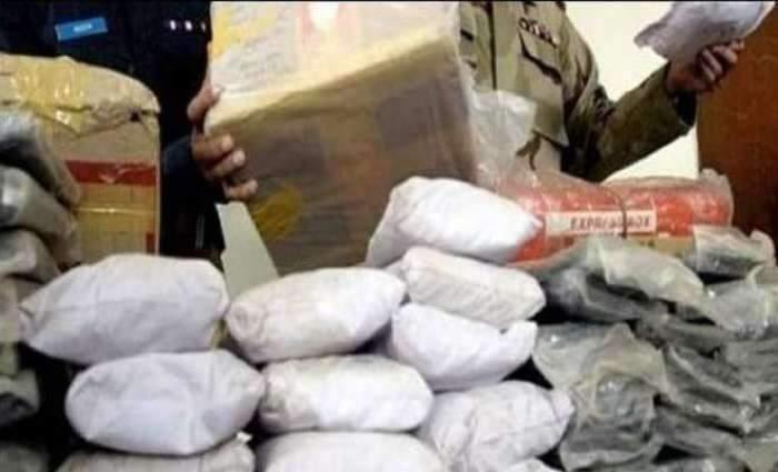 Pakistan Coast Guard seizes 1770 kg chars from mountain in Gwadar