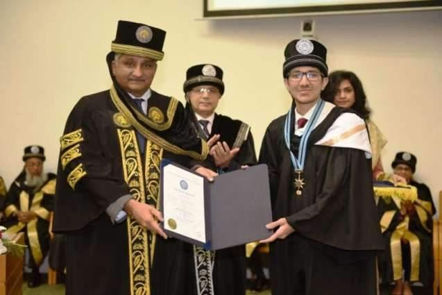 NUST School of Electric Engineering awards 302 degrees at 12th convocation