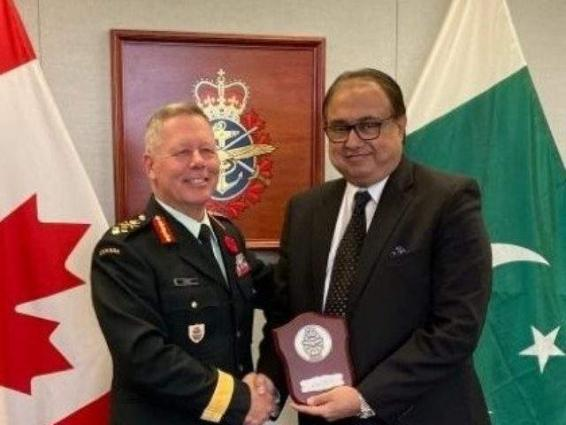 Pakistan, Canada agree to explore avenues for defense and security cooperation