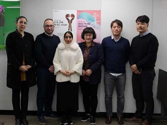 Dubai Culture delegation visits Seoul