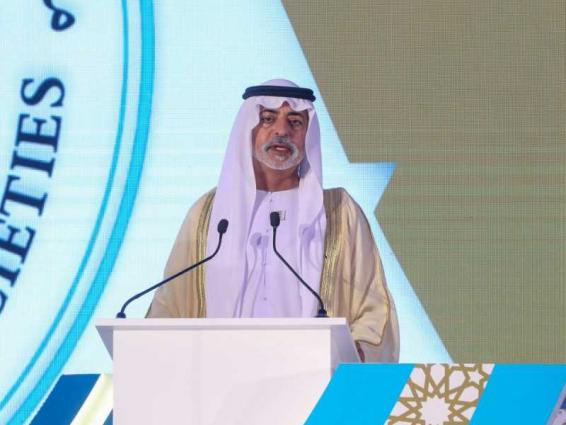 UAE is fully committed to noble values of tolerance and peaceful coexistence: Nahyan bin Mubarak