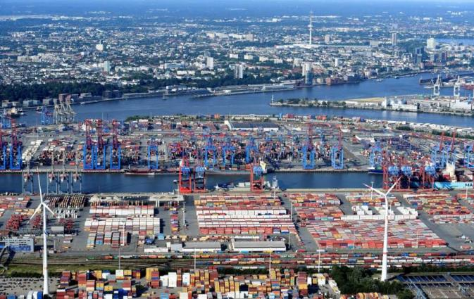 German export up 1.9 pct, import down 0.6 pct in October