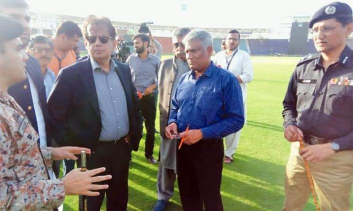 Strict security arrangements at National Stadium for test matches between Pak, Sri Lanka: Commissioner