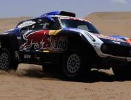 Spanish veteran Sainz bosses Dakar stage five