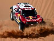 Pressure on Sainz as Peterhansel edges Al-Attiyah in Dakar stage  ..
