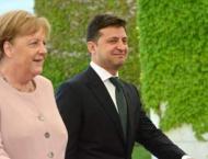 Zelenskyy Tells Merkel by Phone Work Under Way to Form New Lists  ..
