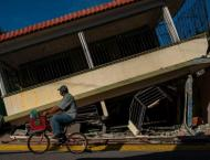 Living in tents, thousands of Puerto Rico's earthquake survivors  ..