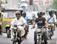 Motorcyclist urges to use helmets for their own safety
