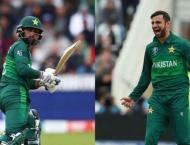 Hafeez, Malik recalled for T20s against Bangladesh