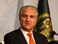 Foreign Minister Makhdoom Shah Mahmood Qureshi highlights contour ..