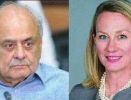 Ijaz, Alice discuss security, internal affairs