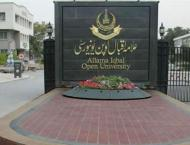 Allama Iqbal Open University opens admission for overseas Pakista ..