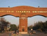 Bahauddin Zakariya University VC asks faculty to find solutions o ..