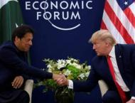 PM Imran Khan and US President meet in Davos City