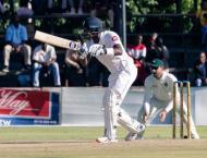 Mathews ton gives Sri Lanka lead in Zimbabwe