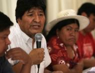 Bolivia's Socialists Oppose Morales' Candidates for President, Pr ..