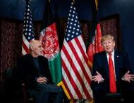 Trump, Ghani Discuss Need for Taliban to Reduce Violence - White  ..