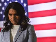 US Presidential Candidate Gabbard Sues Clinton Over Russia Commen ..