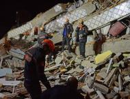 Rescuers scramble to find survivors after Turkey quake kills 22