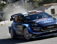 Evans takes Monte Carlo lead from Toyota teammate Ogier