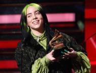 Billie Eilish receives congrats messages for Grammy Awards