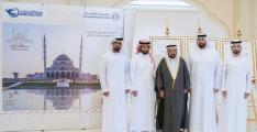 Sharjah Ruler launches commemorative stamp for Sharjah Mosque
