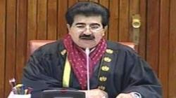 Sanjrani proposes to maintain existing strength of senate membership after expiry of FATA Senators'  ..