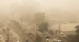 Immense fog envelops  different areas of Punjab, KP