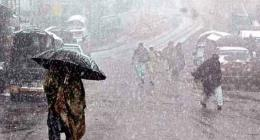 Rain with snowfall likely at isolated places in upper KP,GB,Kashmir:MET Office