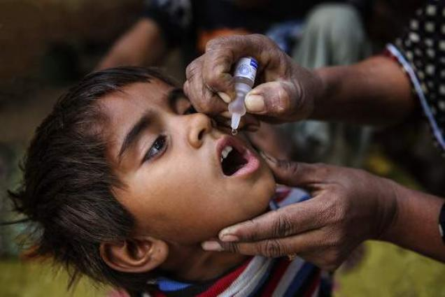 Punjab Polio programme chief visits affected child's family