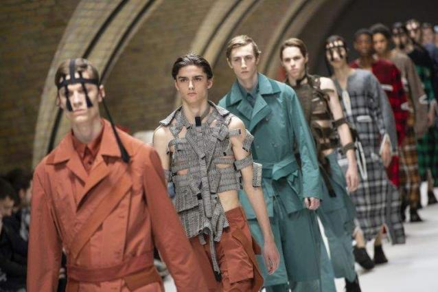 Bye, bye London: British fashion star Green makes his Paris debut