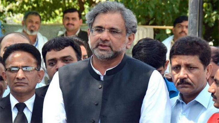 Shahid Khaqan Abbasi says NAB should be closed down