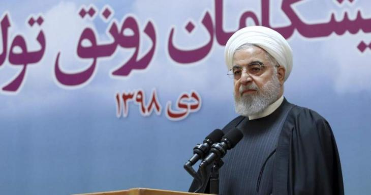 Iran's Rouhani calls for 'national unity' after jet downing