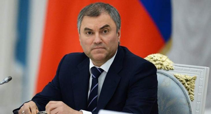 Bills for Implementing Putin's Proposed Social Goals to Be Discussed Next Week - Volodin