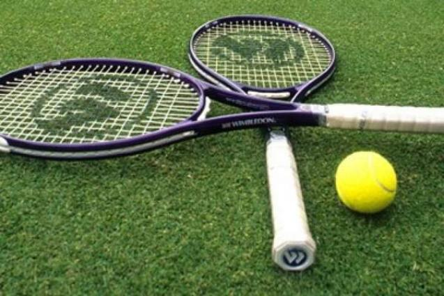 32 matches played on third day of Tennis tournament