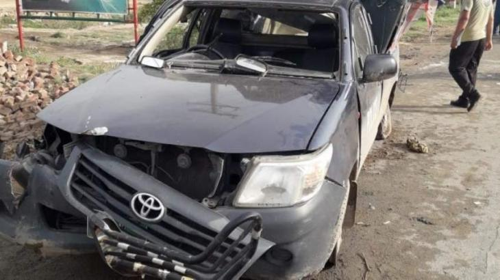 One police official died after police van overturns near Narowal