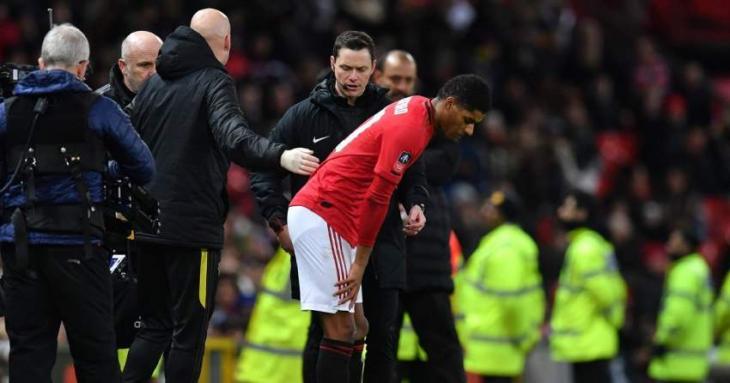 Rashford injury overshadows Man Utd win over Wolves