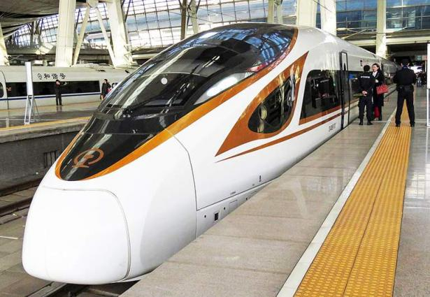 Chinese high-speed railway giant makes strong debut on A-share market