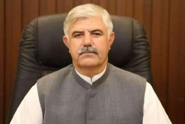 Chief Minister Khyber Pakhtunkhwa Mahmood Khan lays foundation stone of four stations of Rescue-1122 in D.I Khan