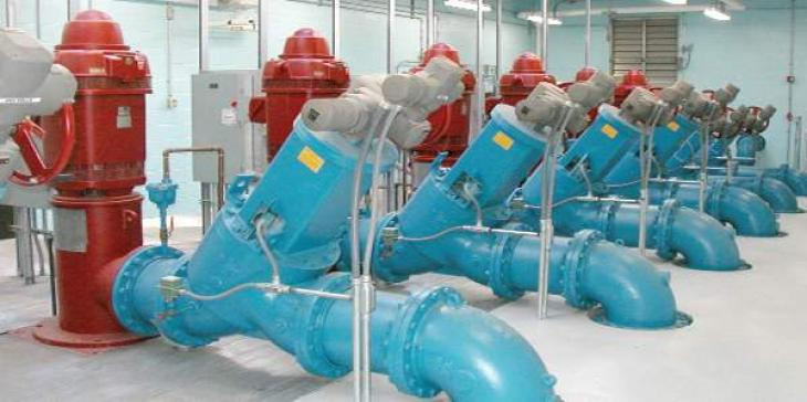 40 MGD pumping station in progress at Dhabeji : MD KWSB