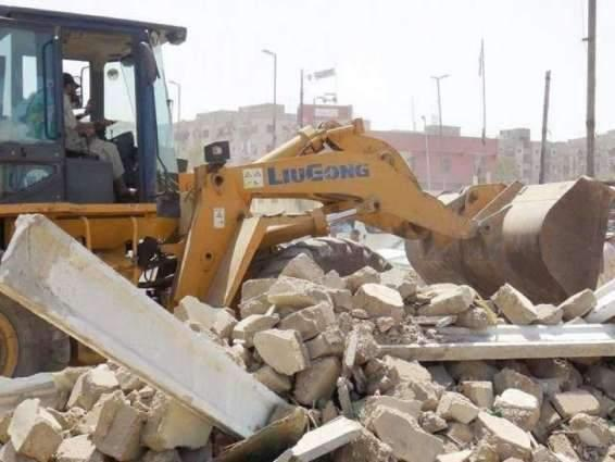 Lahore Development Authority demolishes infrastructure of 4 illegal housing schemes
