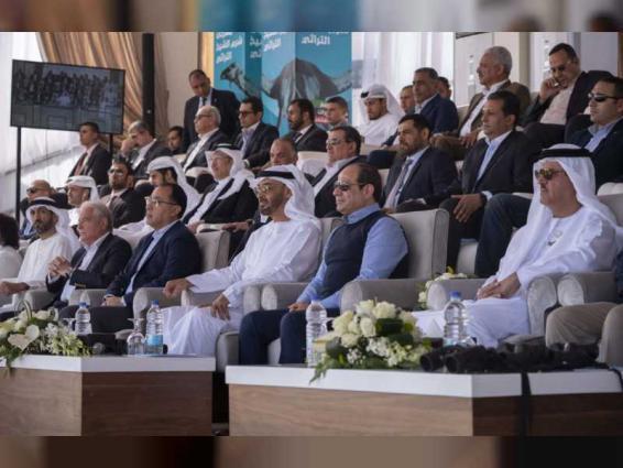 Mohamed bin Zayed, Egyptian President attend Sharm El Sheikh Heritage Festival